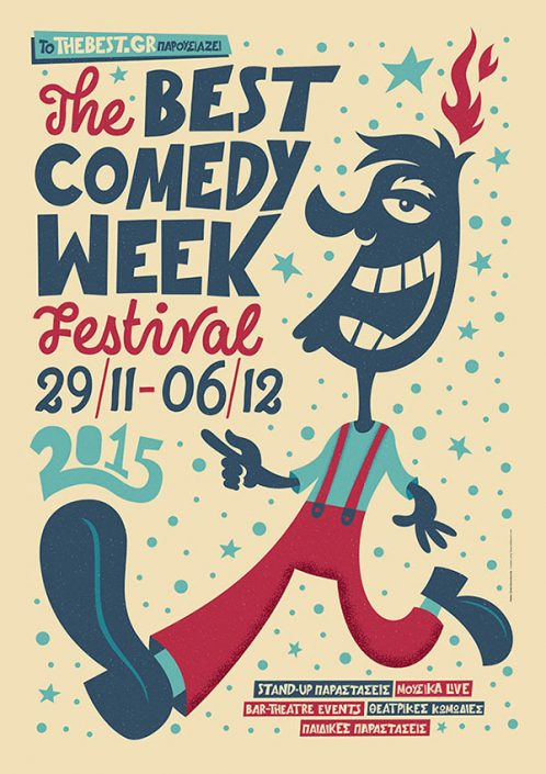 The Best Comedy Week Promo Poster