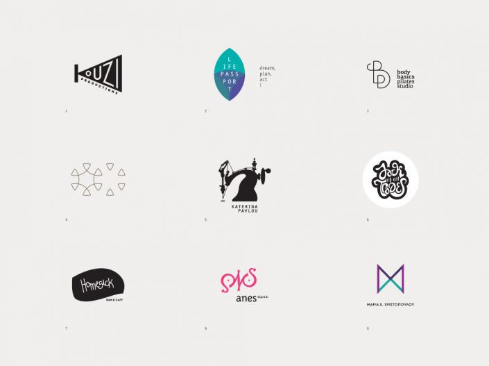 Logotype selection