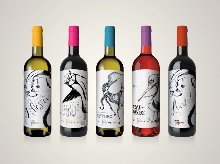 Potsios | Wine labels
