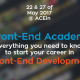 Frond-End Academy Workshops